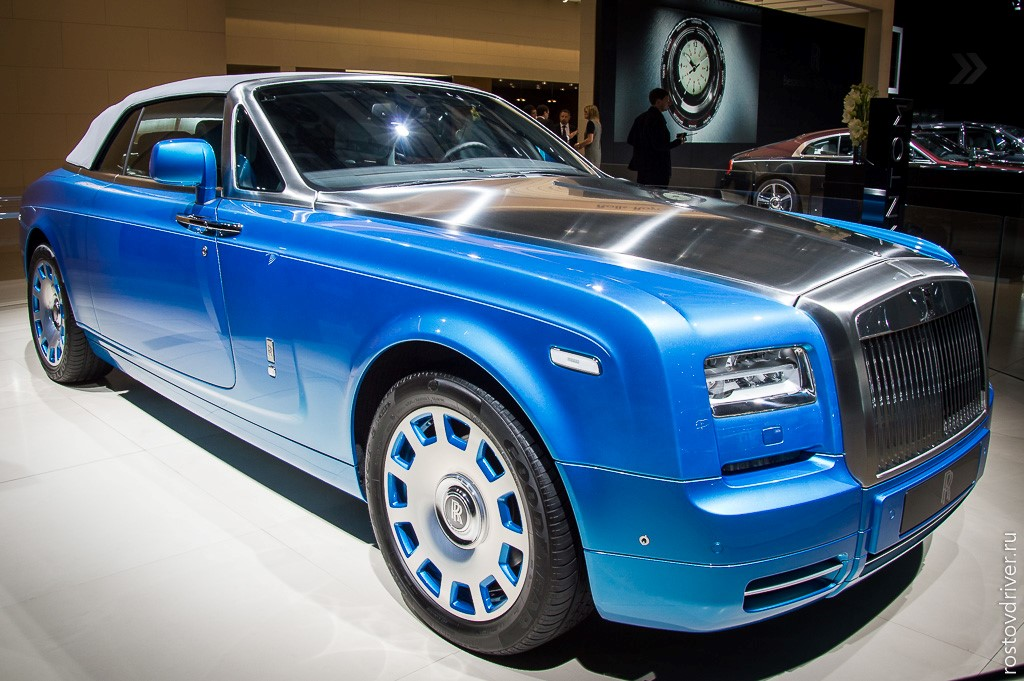 The Rolls-Royce Phantom Drophead Coupe Waterspeed Collection